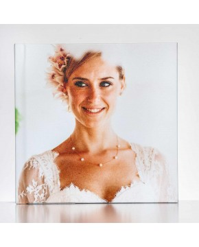 Silverbook 20x20cm with Photo Cover