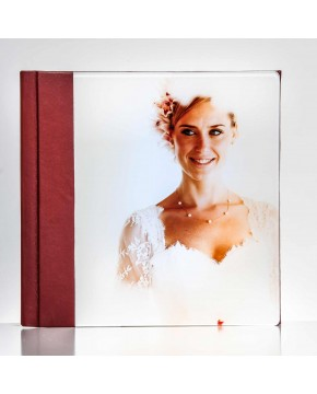 Silverbook 20x20cm with Acrylic Glass