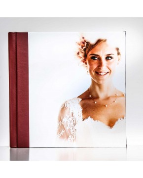 Silverbook 20x20cm with Leather-look