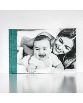 Silverbook 30x20cm with Canvas