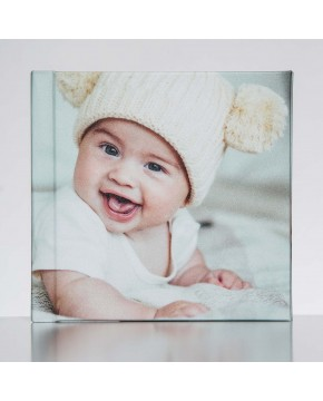 Silverbook 15x15cm with Photo Cover