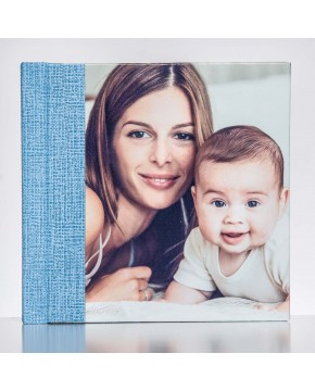 Silverbook 15x15cm with Leather-look