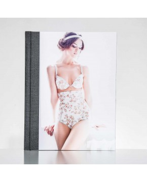 Silverbook 22,5x30cm with Leather-look