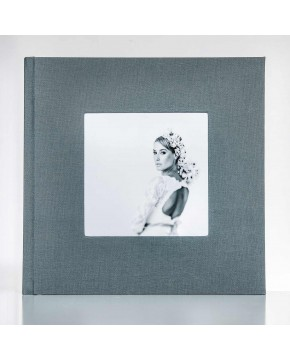 Silverbook 30x30cm with Cover Window