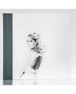 Silverbook 30x30cm with Acrylic Glass