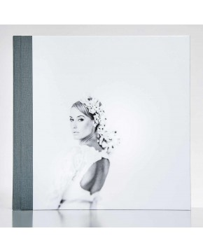 Silverbook 30x30cm with Leather-look