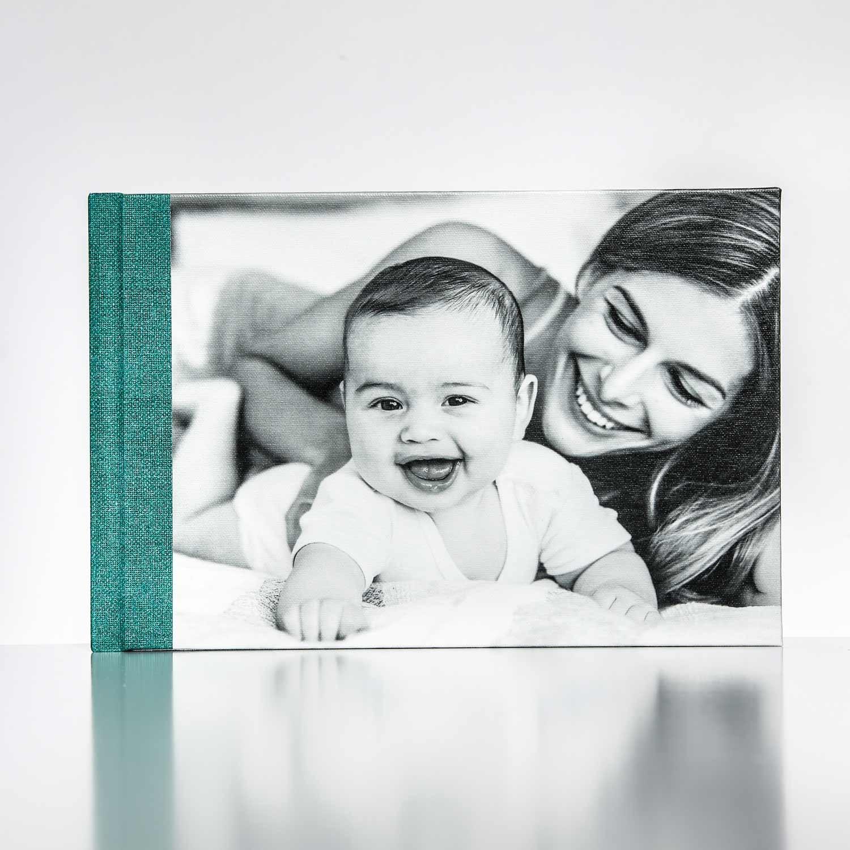 Silverbook 30x20cm mit Canvas
