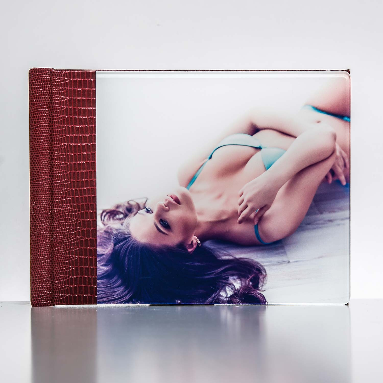Silverbook 20x15cm mit Acryl