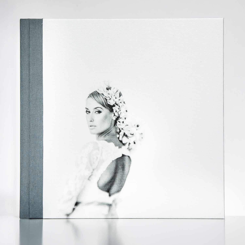 Silverbook 30x30cm mit Canvas