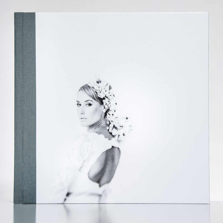 Silverbook 30x30cm mit Leder-Optik