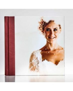 Silverbook 20x20cm mit Canvas