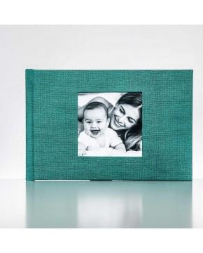 Silverbook 30x20cm mit Quadratischem Fenster