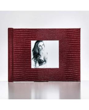 Silverbook 20x15cm mit Quadratischem Fenster