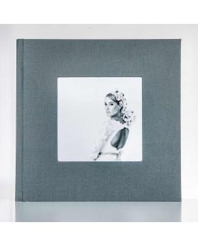 Silverbook 30x30cm mit Quadratischem Fenster