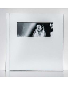 Silverino 20x20cm mit Querformat Fenster