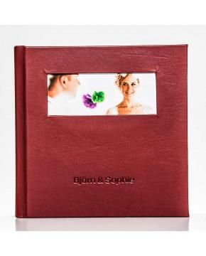 Silverbook 20x20cm Fenêtre au format Paysage
