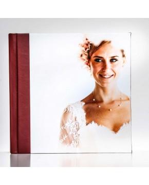 Silverbook 20x20cm Similicuir