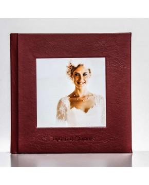 Silverbook 20x20cm Empreinte en creux