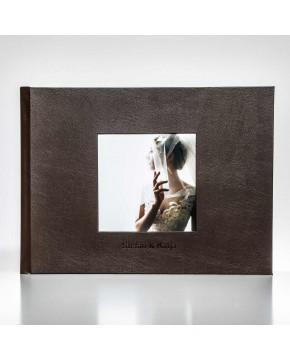 Silverbook 40x30cm mit Quadratischem Fenster