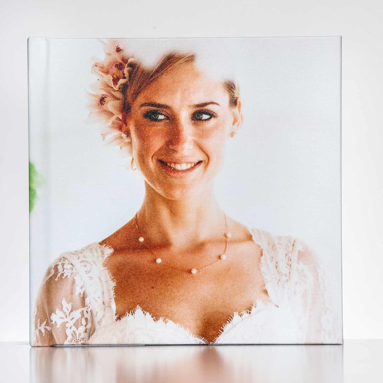 Silverbook 20x20cm met Fotocover