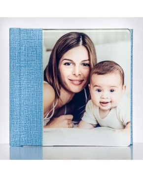 Silverbook 15x15cm met Volledig acrylglas oppervlak
