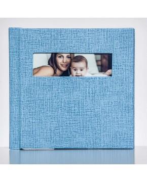 Silverbook 15x15cm met Venster in Liggend formaat