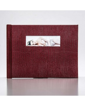 Silverbook 20x15cm met Venster in Liggend formaat