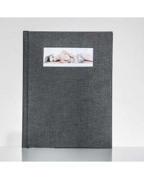 Silverbook 22,5x30cm met Venster in Liggend formaat