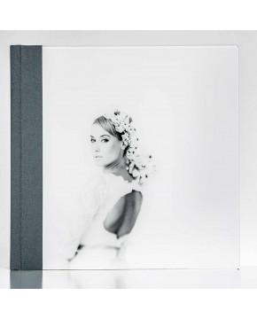Silverbook 30x30cm met Volledig acrylglas oppervlak