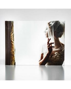 Silverbook 40x30cm met Canvas-oppervlak