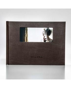 Silverbook 40x30cm met Venster in Liggend formaat
