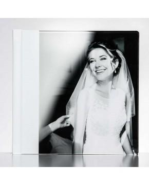 Silverino 20x20cm met Volledig acrylglas oppervlak
